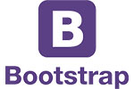 bootstrap 5 logo mlm softwarte using technology